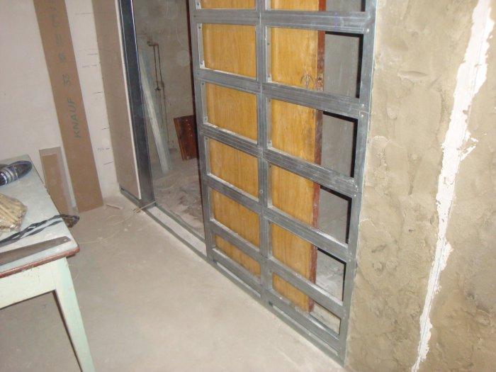 Сдвижные межкомнатные двери в стену своими руками